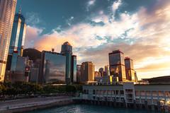 (timmytsang) Tags: sunset ex canon hongkong dusk sigma f28 dg 2470 ferrypier 5dii