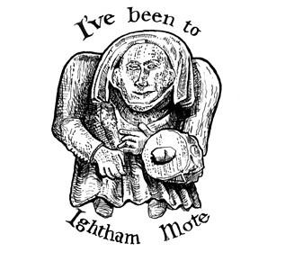 Ightham Mote Badge 1