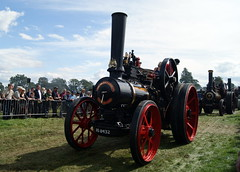BS8432 John Fowler Traction Engine 8NHP Lady Carrick (chrisbell50000) Tags: park old favorite lady vintage john shropshire rally traction engine steam shrewsbury preserved favourite fowler carrick 2012 onslow salop bs8432 8nhp countyofsalopsteamenginesociety chrisbellphotocom