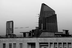 generations (Luca Enrico Sironi) Tags: blackandwhite milan architecture skyscraper milano bianconero pirelli architetture kpf portanuova grattacieli diamantone