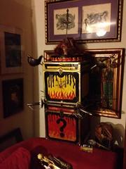 Sword Swallowing Sandy (crowolf) Tags: ginger magick box magic sandy redhead illusion sabre saber static trick mummy swords reluctant rapier prop assistant mummified swallower longsword smallsword illusionmichaelatrickissomethingawhoredoesformoney sebastionthemagnificent swordbox angelosword