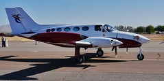 102712-153, N55LT Cessna 414 (skw9413) Tags: arizona aircraft 1442mmlens copperstateflyin