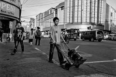 Keep Off the Grass (JustinZ850) Tags: street leica travel urban blackandwhite bw 35mm asia philippines summicron cebu m9