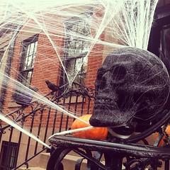 Brooklyn brings pretty legit #Halloween decorations. (laurenfarmer) Tags: decorations halloween brooklyn pretty brings iphone legit instagram