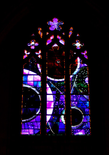 Stained glass window, National Cathedral in Washington, DC.