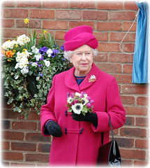 Flower Queen (sharkskin2) Tags: london duke hrh royalty thequeen princephilip hermajesty