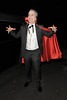 Frank Skinner leaving a Halloween party held at the home of television presenter Jonathan Ross. London, England