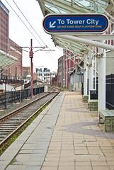 (.:Chelsea Dagger:.) Tags: ohio train cleveland platform clevelandohio rapid towercity urbanexploring urbex rta chelseadagger chelseakaliwhatever cmckeephotography chelseamckee