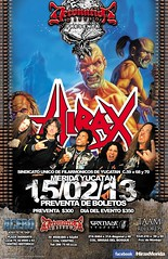 HIRAX Live en Concert Friday February 15th 2013. Mrida Yucatan Mexico. (HIRAX Thrash Metal) Tags: music poster mexico concert flyer destruction band itunes hollywood metallica slayer mekongdelta thinlizzy dri v8 sod anthrax exodus helloween sepultura megadeth venom suicidaltendencies riff metalchurch kreator testament annihilator nuclearassault municipalwaste voivod hermtica celticfrost mercyfulfate maln spvrecords
