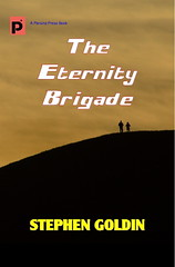 The Eternity Brigade book cover (Parsina Press) Tags: war military aliens sciencefiction outerspace eternallife goldin eternitybrigade