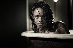 She Has That Look (TJ Scott) Tags: portrait book bathtub battlestargalactica inthetub tjscott kandysemcclure photographyhemlockgrove