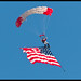 Flag Parachutist
