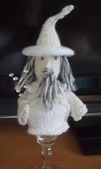 Favour #Gandalf my #copyright photo and knitted design (Denise Salway) Tags: new wedding wool cup wales design knitting doll dolls handmade witch egg knit craft merino jackson yarn zealand gandalf tribute welsh denise hobbit tolkien dwarves jrr the handknitted favours fibreart salway welshknitting