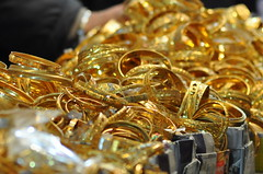 loads of gold bangles