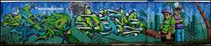Esper + Dams + Slim (HEC) (Chrixcel) Tags: streetart graffiti slim tag tags graff esper dams fresque décor hec lettrages