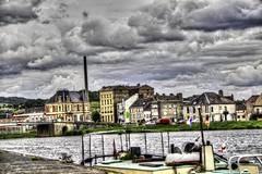 France - Ardenne - Givet - La Meuse (saigneurdeguerre) Tags: france river europa europe maes riviere ponte frankrijk maas meuse fleuve rivier ardenne aponte givet antonioponte ponteantonio saigneurdeguerre