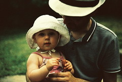 alice turns 1! (golfpunkgirl) Tags: party summer baby slr film canon garden eos xpro crossprocessed picnic alice canoneos5