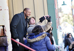 Forest Whitaker at sundance taking picture with a fan 2013 (houstonryan) Tags: park street city people film festival forest photography for utah day photographer shots ryan candid main january houston photograph celebrities sundance normal 20 3rd whitaker available freelance attendees licensing fesitvals goers attending 2013 licensure houstonryan