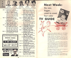 TV Digest and Guide Philly 040253 (JSF0864) Tags: philadelphia television tv program 1953 tvguide listings vintaghe tvdigest