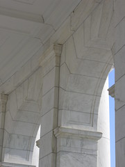ARL_0282 (TNoble2008) Tags: arch beam anta 1920 impost materialstonemarblewhite architectcarrreandhastings materialstonemarblevermontimperialdanby
