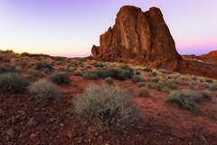 Gibraltar Rock (Eddie 11uisma) Tags: park southwest valleyoffire landscapes desert state nevada eddie overton lluisma