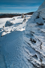 Cairn, Font d'Urle (dom.guillot) Tags: hiver font neige pierres vercors froid cairn givre gle fontdurle durle