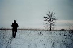 dust bowl dance (Dima Viunnyk) Tags: winter field minolta kodak 400 portra x700