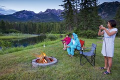 S'More  factory (John Andersen (JPAndersen images)) Tags: camping mountains bc roastmarshmallows