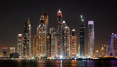 City of lights (Amir Shayani) Tags: cityscape dubai uae night skyscraper