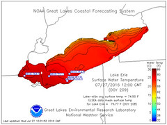 Which Great Lakes beaches are approaching 80-degree water temperatures (michiganapparelts) Tags: livnfreshcom which great lakes beaches approaching 80degree water temperatures