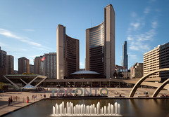 The Square (Jack Landau) Tags: nathan phillips square toronto long exposure concrete sign city urban downtown hall architecture modernism modernist mid century
