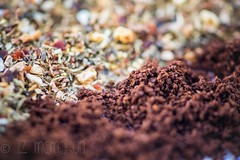 Choose your heart starter....Explored, thank you! (Liz McMahon) Tags: macromondays opposites tea coffee nikon105mmmicro nikond750 beverage