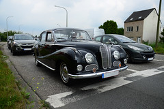 BMW 501 V8 (DST_8430) (larry_antwerp) Tags: bmw bmw501 classic car vehicle ekeren leugenberg antwerp antwerpen       belgium belgi