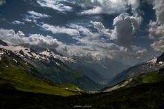 Ombre et Lumire sur la Valle (Frdric Fossard) Tags: ciel ombre lumire valle cimes glacier alpage alpes hautesavoie valledechamonix massifdumontblanc letour charamillon argentire chamonix