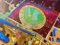 Coliseum (Jef Poskanzer) Tags: coliseum mural geotagged geo:lat=3779594 geo:lon=12226718 t