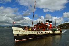 PS Waverley (Zak355) Tags: rothesay isleofbute bute scotland scottish riverclyde pswaverley paddlesteamer ship boat vessel cruise tour