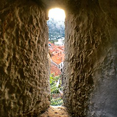 Kotor old town (Krikor A.) Tags: view top town unesco reserved old castle history culture