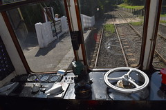 Driving cab of W55005 at Shenton (colin9007) Tags: battlefield railway line shenton gloucester rcw class 122 railcar w55005