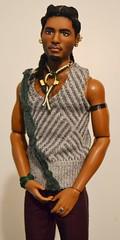 Cairo (pronounced K-EYE- roh)- Egyptian & Sudanese AA Texas A&M University Ken Repaint OOAK Doll by Doll Anatomy (Gypsy X) Tags: aabarbie aabarbiebasicskenno17 aaken texasamuniversitykenafricanamerican barbietexasamuniversitykendollafricanamerican blackdoll africanamericanbarbie africanamericanken muneca marineraluna dollanatomycom anatomicallycorrectdoll repaintken ooakbarbie ooakdoll ooakken dollsoftheworldbarbie