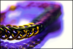 """Persian 4 in 1 Chain Maille bracelet - In The Mirror - (Explore 29 Aug 2016) (andymoore732) Tags: macromonday inthemirror macromondays """"inthemirror"""" macro mondays persian 4in1 chain maille bracelet jewellery mirror reflection reflected andy moore colour nikon d300 afs vr micronikkor 105mm f28gifed challenge theme flickr"""