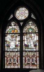 Glasmalerei (julia_HalleFotoFan) Tags: klosterneuendorf kloster klosterkirchestmarien fenster glasfenster glasmalerei