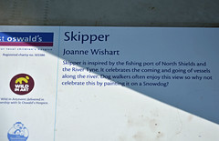 Skipper-N-17-September-2016 (Steve Ellwood Whitley Bay) Tags: greatnorthsnowdogs guidedog mikeclay northshields cliffordsfort ellwood steveellwood skipper joannewishart dfds westernquay fishquay