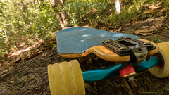 Pantheon Trip setup (Codydownhill) Tags: longboard skateboard nature blue green brown macro wheels trucks forest downhill setup