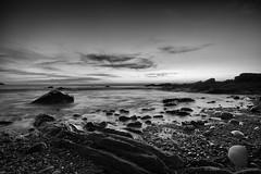 Hallett Cove Conservation Park, 6:08pm August 23rd, 2016. (SeeminglySane) Tags: beach rocks sunset sunsets ocean long exposure water waves wet wetrocks longexposure halletcove halletcoveconversationpark