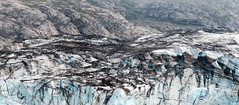Lamplugh the Blue (acheron0) Tags: alaska dirt glacier glacierbay ice johnshopkinsinlet lamplugh nationalpark snow