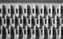 DSC_9361-4 (deborahb0cch1) Tags: blackandwhite monochrome building architecture abstract lines curves pattern geometric minimalism diagonal window