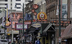Beale Street Neon (dcnelson1898) Tags: memphis tennessee south bealestreet nationalcivilrightsmuseum neon jimcrow segregation struggle mlk martinlutherkingjr protest demonstration music blues