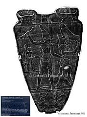 Narmer Palette - Side 1 (Amberinsea Photography) Tags: narmer narmerpalette cairo cairomuseum egyptianmuseum egypt ancient ancientcivilization ancientegypt amberinseaphotography earlydynastic dynasty0 reignofnarmer templeofhorus hierakonpolis ceremonialpalette thecairomuseumegypt