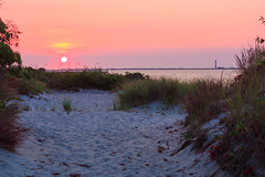 Sunrise at Captree Park (Oquendo) Tags: captree state park sunrise sand dunes fire island babylon long new york water colors sun oquendo