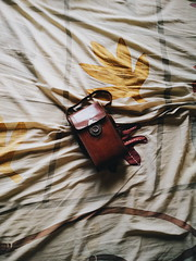 Mellow Fade (dheri fikriyanto) Tags: vsco vscofeature vscocam vintage leather mobilephotography mellow faded fade dailyphoto dailyshoot abstract random